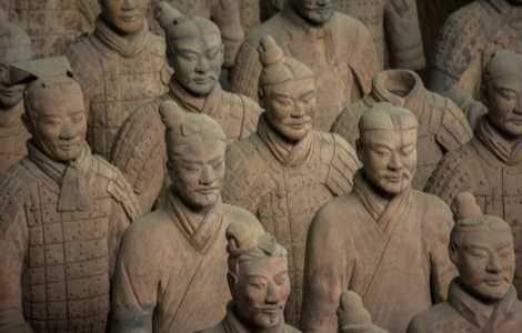 The Tomb of Qin Shi Huang