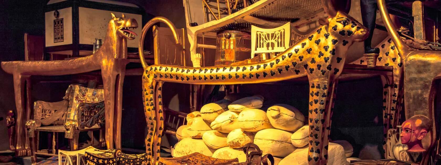 Legendary Treasures King Tut Tomb