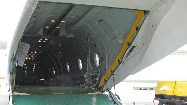 Antonov AN-26 Interior