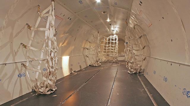 ATR 72 Cargo Interior