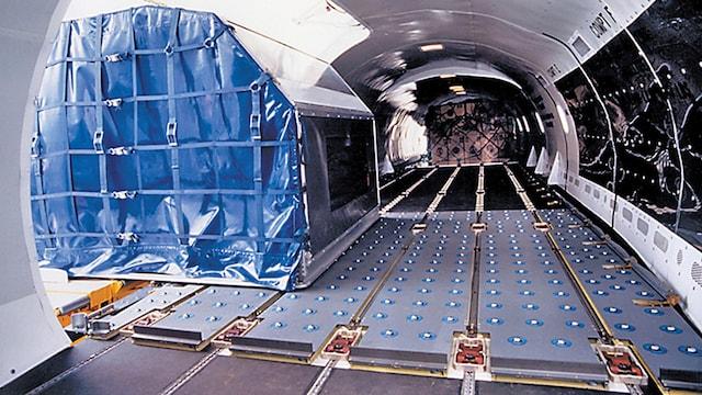 BAE 146-200F Interior