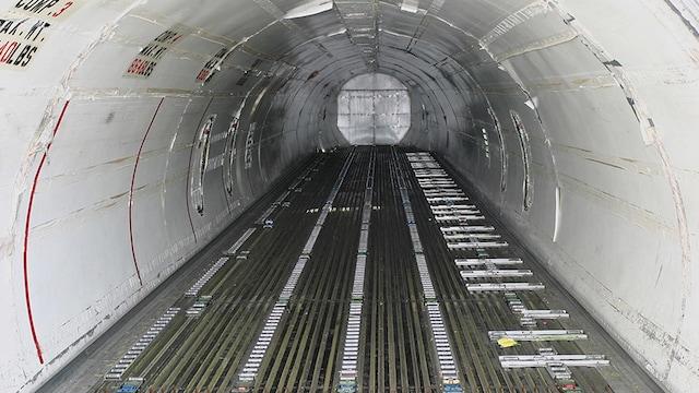 McDonnell Douglas DC-8 71 73F Interior