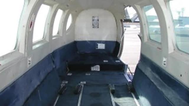 Piper PA-31 Interior