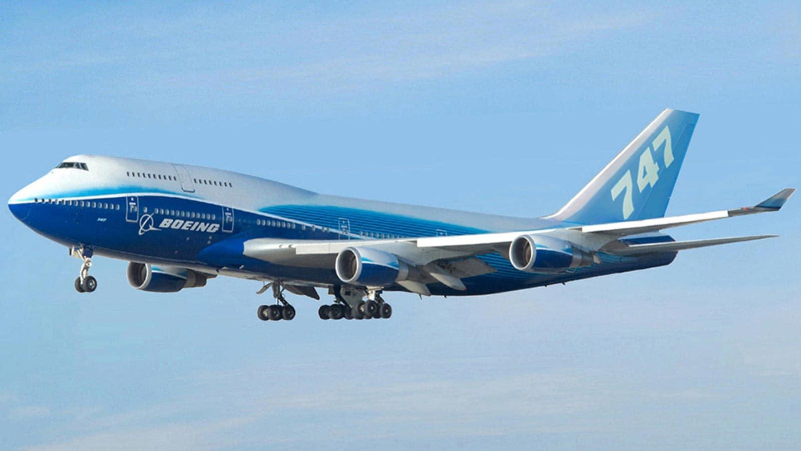 BOEING 747-200 400 800
