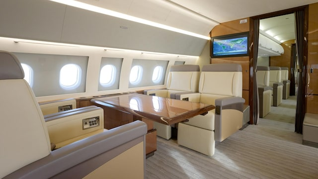 Airbus A319 CJ (19 Seat) Interior