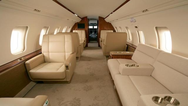 Bombardier Challenger 604 605 Interior