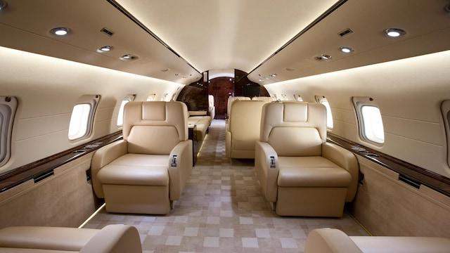 Bombardier Challenger 850 Interior