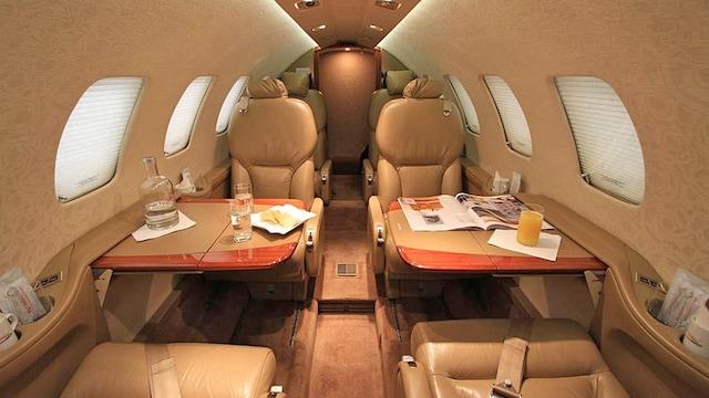 Cessna Citation Bravo Interior