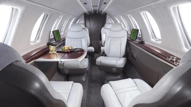 Cessna Citation CJ4 Interior