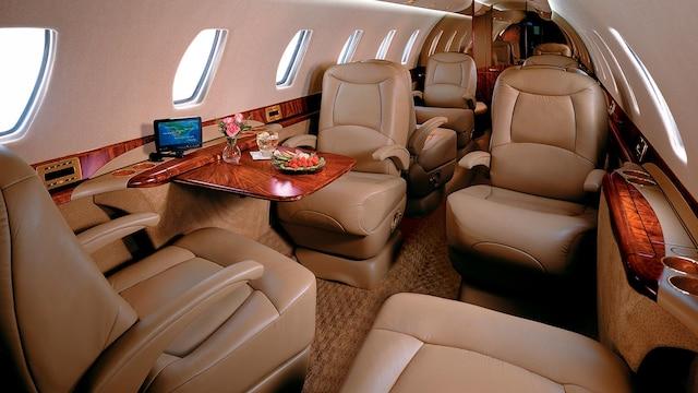 Cessna Citation Sovereign Interior
