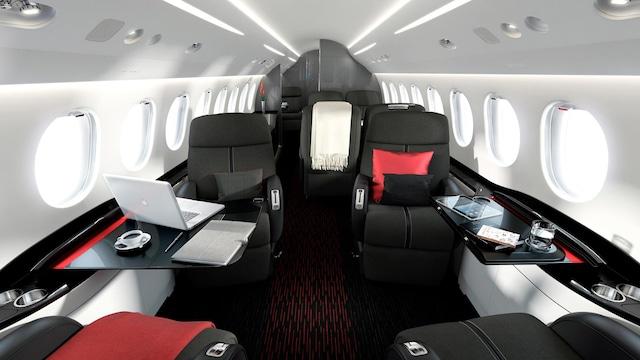 Dassault Falcon 7X Interior
