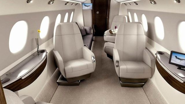 Embraer Legacy 450 Interior
