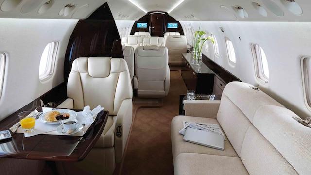 Embraer Legacy 600 650 Interior