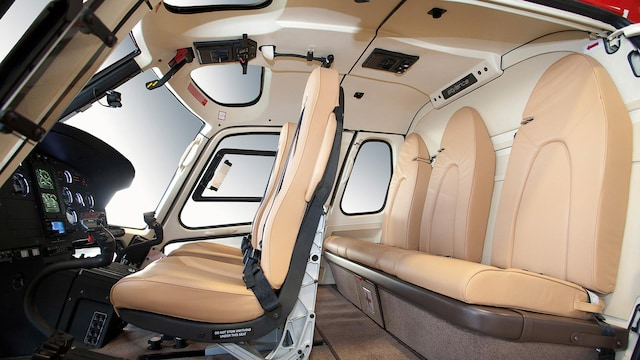 Eurocopter AS350 Ecureuil Astar Interior