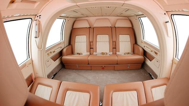 Eurocopter AS365 Dauphin Interior