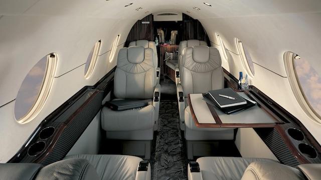 Hawker Beechcraft 400XP XPR Nextant Interior