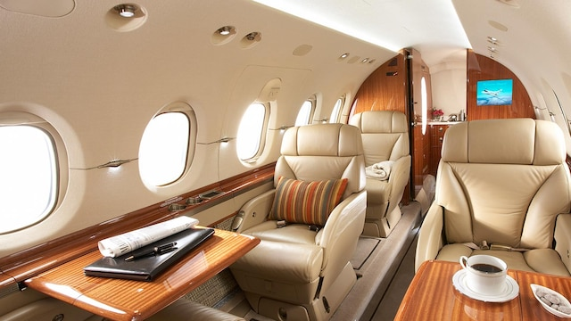 Hawker Beechcraft 900XP Interior