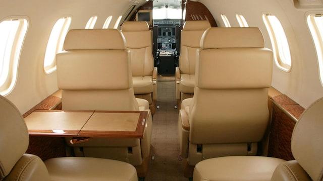 Bombardier Learjet 31 Interior