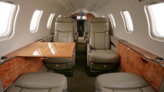 Bombardier Learjet 45 45XR Interior