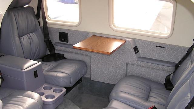 Piper PA-34 Seneca Interior